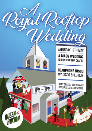Royal Rooftop Wedding Party