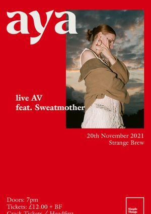 aya live at Strange Brew, Bristol