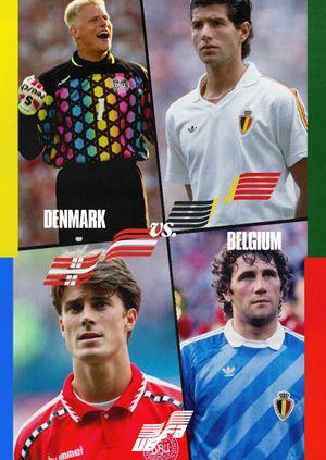 Euros Warehouse: Denmark vs Belgium