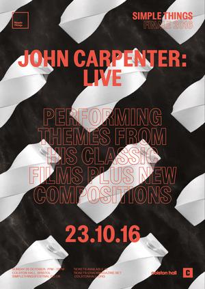 Simple Things 2016 Finale: John Carpenter