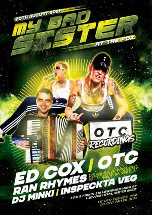 MBS Presents - My Bad Sister Live in London with Ed Cox