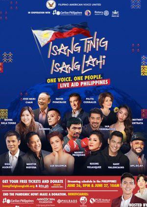 Isang Tinig, Isang Lahi Fundraising Concert