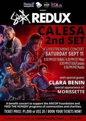 Side A Redux Calesa 2nd Set (Sept 12 12:30AM Manila/ Sept 11 6:30PM Central European Time / 8:30PM UAE)