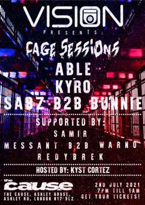 Cage Sessions: Vision UK