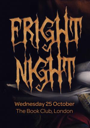 Guerilla Science presents: Fright Night