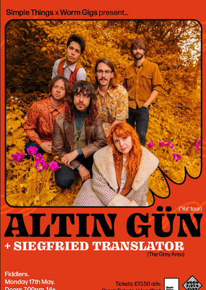 Altin Gün - Live at Thekla, Bristol