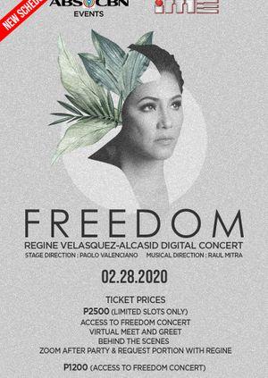 Freedom: The Regine Velasquez Valentine Digital Concert