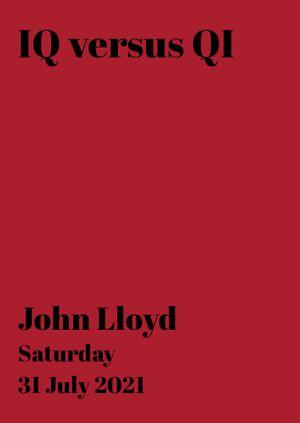 John Lloyd: IQ versus QI