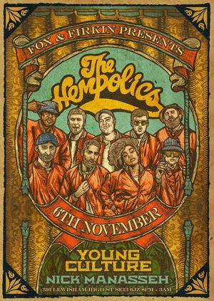 The Hempolics // Young Culture Band // Nick Mannaseh