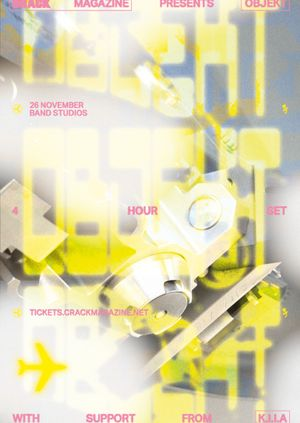 Crack Magazine presents: Objekt