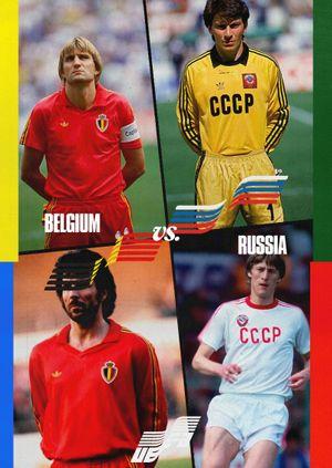 Euros Warehouse: Belgium vs Russia