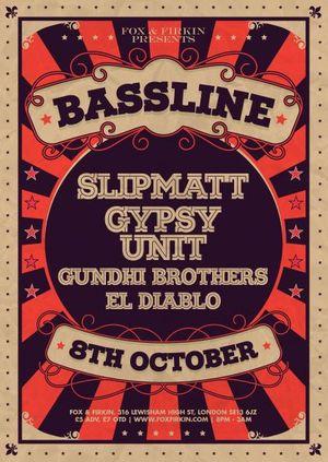 BASSLINE: Splitmatt // Gypsy Unit & MORE