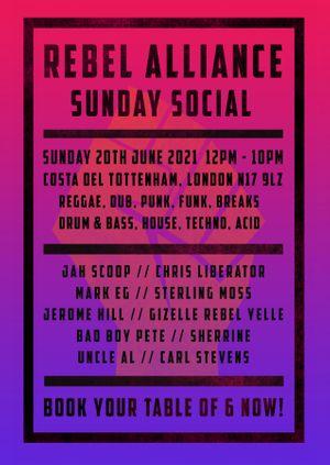 Rebel Alliance Sunday Social