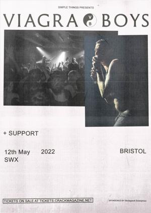 Viagra Boys Live at SWX, Bristol