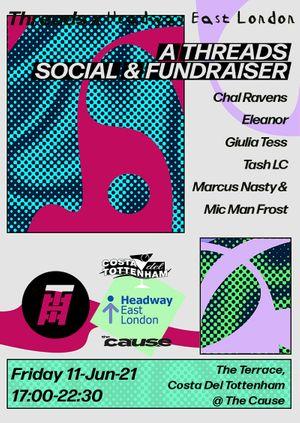 DJs on The Terrace | Threads x Headway Fundraiser