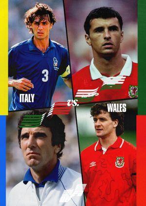 Euros Warehouse: Italy vs Wales