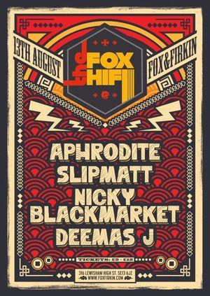 DJ Aphrodite, Nicky Blackmarket, Slipmatt, Blackeye MC & Deemas