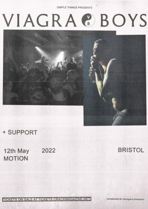 Viagra Boys Live at Motion, Bristol